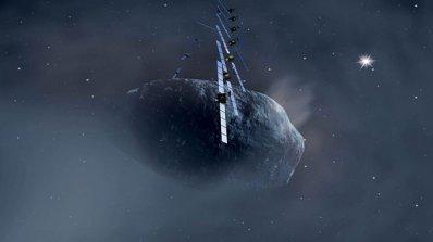 """""""Розета"""" каца на кометата 67P на 12 ноември"""