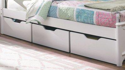 Идеи за съхранение под леглото