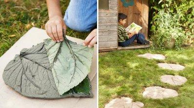 Креативна пътека от цимент в 6 стъпки