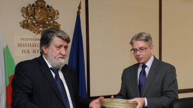 Вежди Рашидов: Ще се боря за 1 % от БВП за култура (галерия)