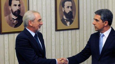 Започна срещата на Плевнелиев с ДПС