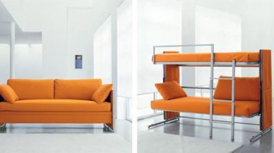 Мултифункционални мебели за малко жилище