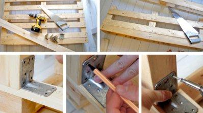 Конструкция на пейка от палети