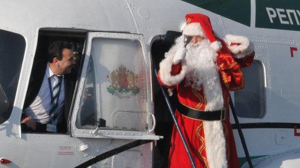 Дядо Коледа е в България (видео)