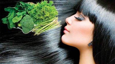 Хранене според цвета на косата