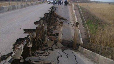Одобриха 190 000 лв. за възстановяването на рухнал от пороите мост