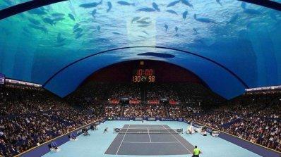 Дубай може да се сдобие с подводен тенис корт