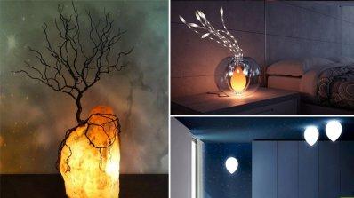 10 очарователни решения за осветителни тела за дома