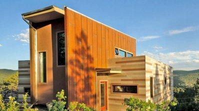12 впечатляващи домове, направени от корабни контейнери