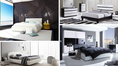 20 великолепни идеи за спални в черно и бяло