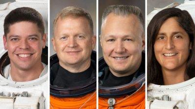 NASA определи астронавтите за първия частен полет
