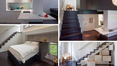 Невероятно преобразяване на жилище, побрано в едва 40 кв.м.