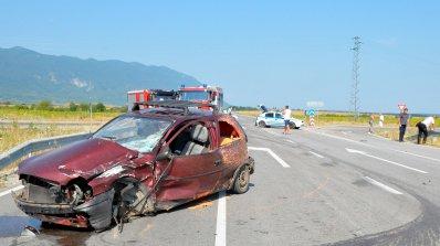 81-годишен шофьор загина на място при тежка катастрофа на обходния път на Враца (снимки)