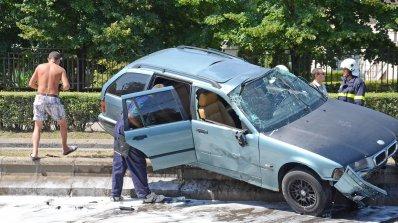 Шофьор катастрофира тежко на пътя Русе - Силистра, почина в болницата