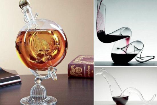 6 нестандартни и стилни начина да си налеете вечерното питие