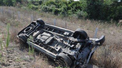 Колони от автомобили след катастрофа край Дупница