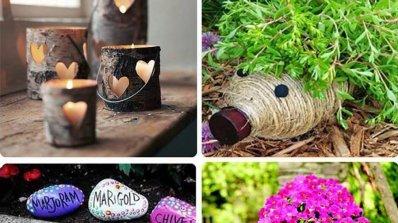 Уникални вдъхновения за аранжиране на градина
