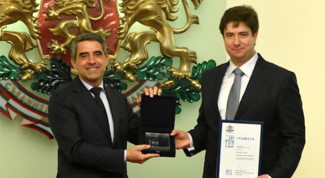 """Д-р Цено Галчев е носителят на наградата """"Джон Атанасов"""" за 2015 г. (снимки)"""