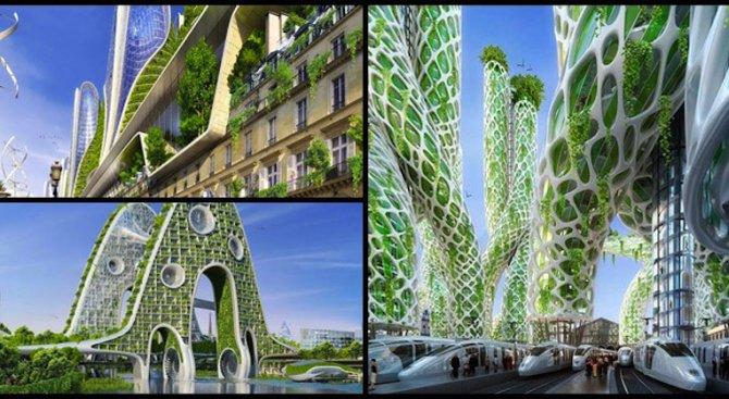 Как би изглеждал Париж през 2050 г. според Винсент Калебаут