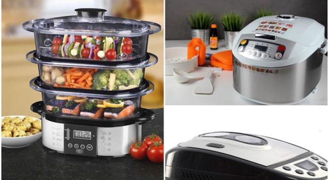 Нови технологии за здравословно и лесно готвене