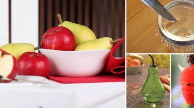 Хитри трикове за справяне с досадните плодови мушици