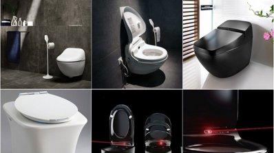 Иновативни изобретения за баня - модерни хайтек тоалетни