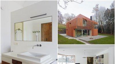 Невероятна иновативна къща, построена само от рециклирани материали