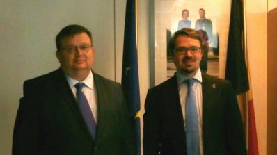 Цацаров се срещна с белгийския главен прокурор, обсъдиха противодействието на терористичните заплахи