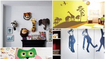 Тенденции при обзавеждането на детска стая с животински елементи