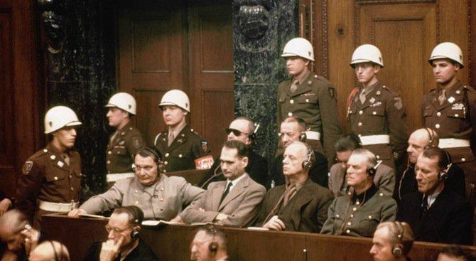 Резултат с изображение за осъдени на Нюрнбергския процес.