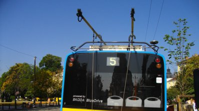 Тролейбусни жици се скъсаха в центъра на Пловдив
