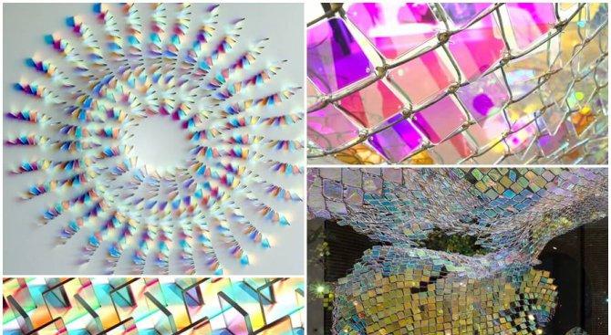 Впечатляващи произведения, създадени с двуцветно стъкло
