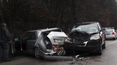 Тежка катастрофа на околовръстното в Пловдив