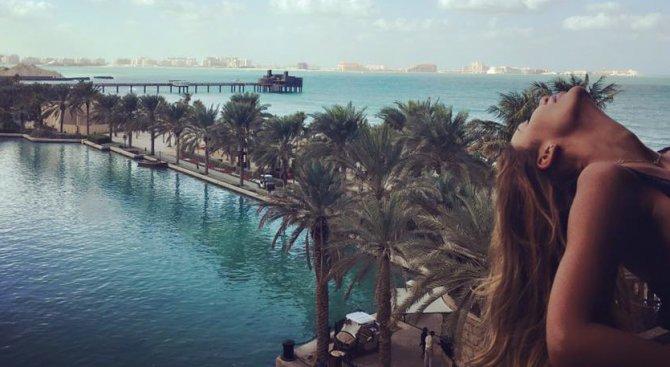 Моника Валериева се опъна по прашки в Дубай (снимки ... - photo#26