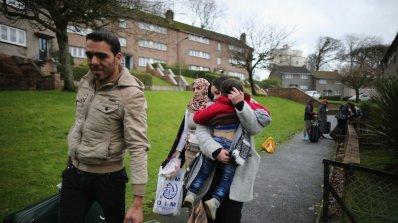 Нацистки скандал с бежанци в Уелс
