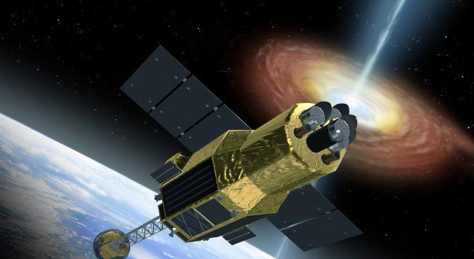 Япония изстреля сателит, за да изследва черни дупки