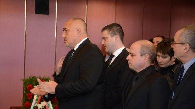 Ще довършим докрай започнатото от Ваньо Танов, обеща Борисов (снимки)