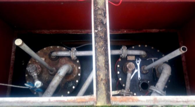 Затвориха бензиностанция заради некачествени горива (снимка)