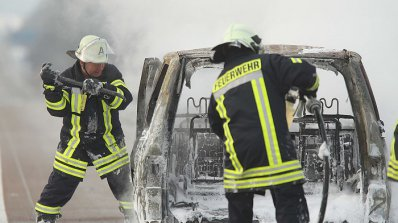 Подпалиха две коли в Карлово