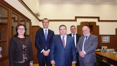 Сотир Цацаров се срещна с директора на Европол Роб Уейнрайт