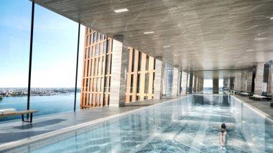 Този въздушен басейн в Ню Йорк ще се издига на височина 90 метра