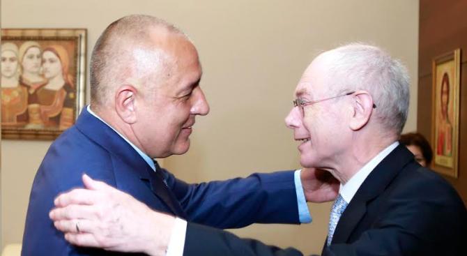 Бойко Борисов към Херман ван Ромпой: За България винаги ще останете голям приятел (снимки)