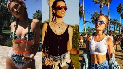 Фестивална мода от знаменитостите на Coachella