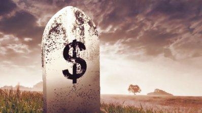 """""""Смъртта на парите"""" от Джеймс Рикардс"""