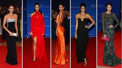 """Коя е най-добре облечената на """"последната вечеря"""" на Обама?"""