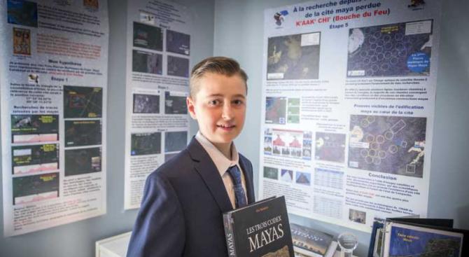 15-годишен откри неизвестен град на маите по звездите