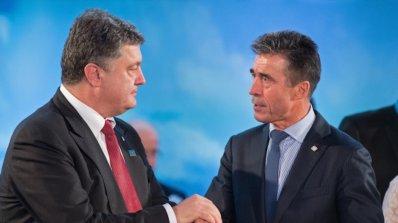 Бивш шеф на НАТО съветва Киев за $ 100 000