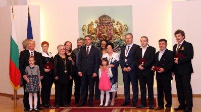 Плевнелиев: Българската нация дължи изключително много на своите рицари на културата (снимки)