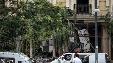 Българската кола край мястото на атентата в Истанбул е на жител на Свети Влас?