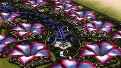 Град с формата на цвете ще разцъфти в пустинята на Дубай